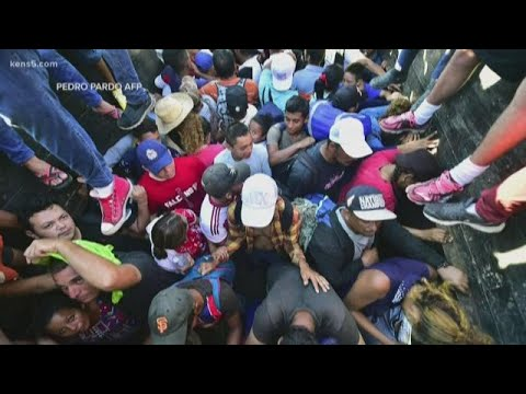Immigrant caravan now in Mexico. What's next?