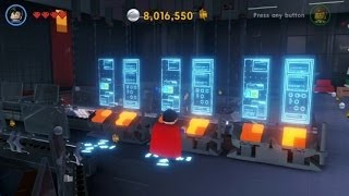 The LEGO Movie Videogame - All Red Bricks in The Octan Tower (Octan Tower 100% Guide)