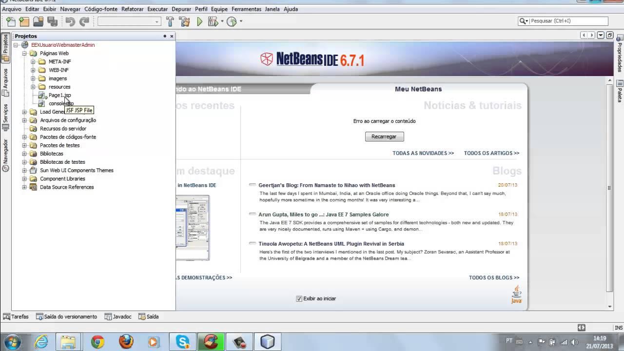 netbeans 6.7.1