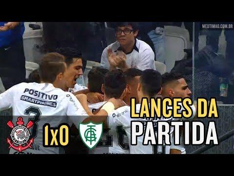 Corinthians 1x0 América-MG - Melhores Momentos (Brasileirão 2018)
