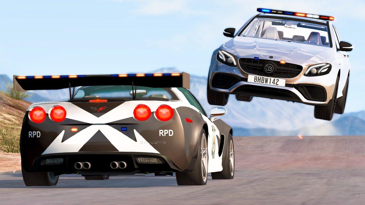 Extreme Car Crashes Compilation #204 - BeamNG Drive | CRASHdriven