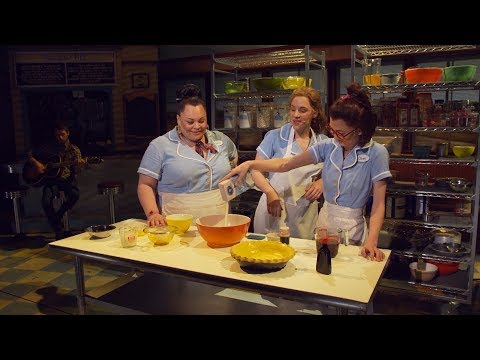 Behind the Scenes of Waitress, the Broadway Musical