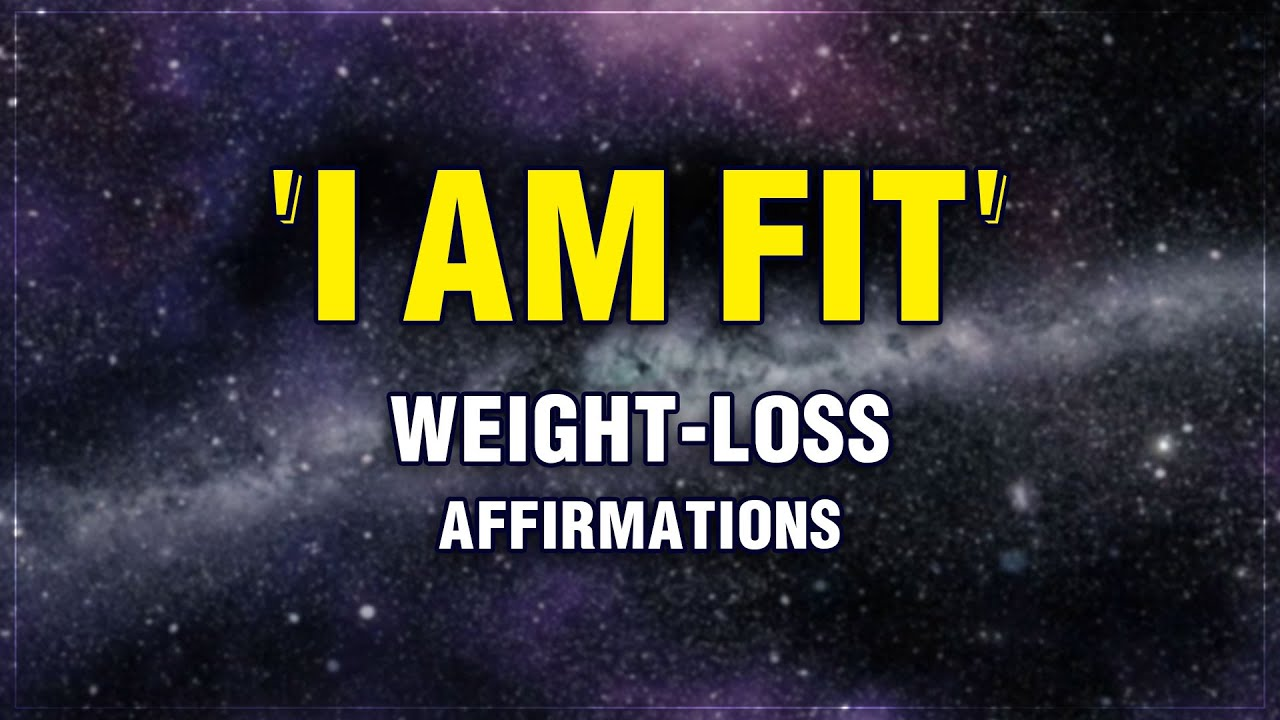 Affirmations For Weight Loss | 21 Days Challenge | Lose Weight While You Sleep | Manifest
