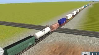 Virtual railfanning Trainz 12 Simulator: NYSW SU-258 6/23/2017