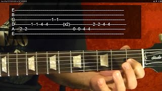 guitar lesson - darth vader-s theme ( imperial march ) - guitar lesson