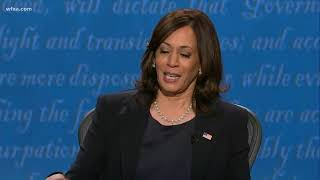 'Pack the court' | Pence, Harris debate about Supreme Court pick