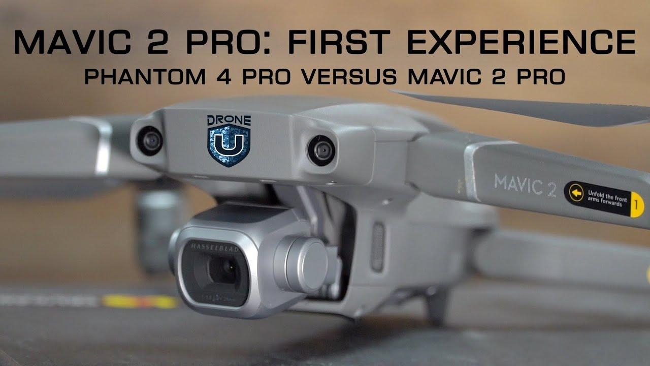 Mavic 2 Pro First Experience, Mapping Capability with Pix4D & Phantom 4 Pro  vs Mavic 2 Pro