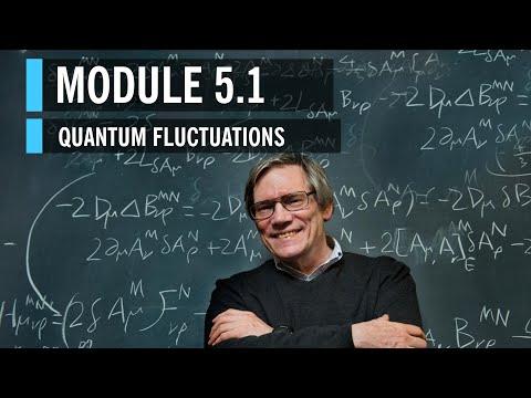 Alan Guth Module 6: Quantum Fluctuations