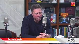 """Persona grata"": Raigardas Musnickas ir Rimvydas Valatka"