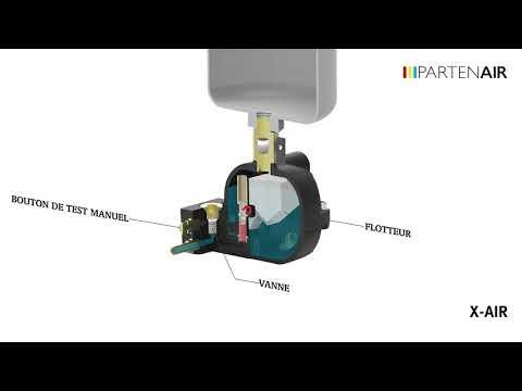 Video Purgeurs sans alimentation - X-AIR