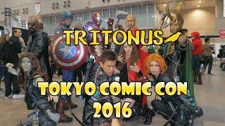 Tokyo Comic Con 2016 at Makuhari Messe
