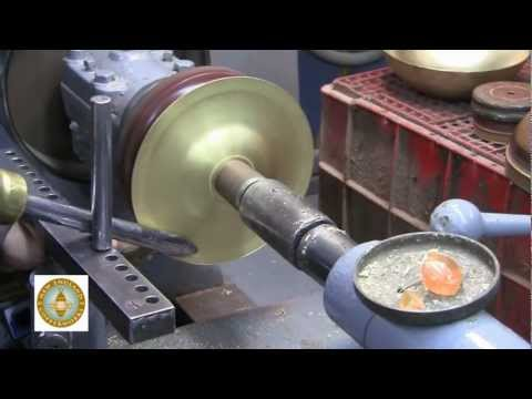 How to spin a copper bowl