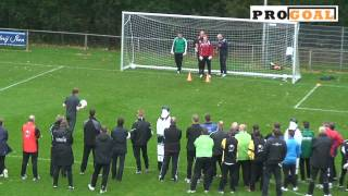 PRO GOAL Keeperstraining Oefening 2