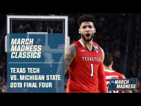 Texas Tech vs. Michigan State: 2019 Final Four | FULL GAME
