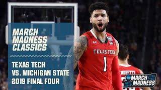 Texas Tech vs. Michigan State: 2019 Final Four