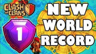 Clash of clans first player to hit 6k trophies