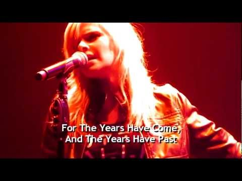 """Trans-Siberian Orchestra - """"Someday"""" with Kayla Reeves and Paul O'Neill in Tampa, with lyrics"""