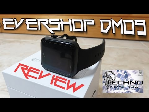 Evershop DM09 Smartwatch Review for Android and iPhone | An