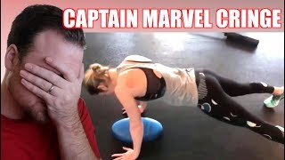 Brie Larson's Captain Marvel Training Is Not Special