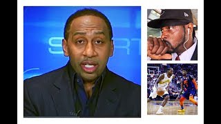 REACTION TO STEPHEN A. SMITH SAYING KAWHI GETTING PG TO CLIPPERS WAS A POWER MOVE OF