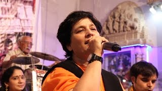 Falguni Pathak & Tushar Trivedi at Babulnath - Part 1 -  Dumbar vagay & other.