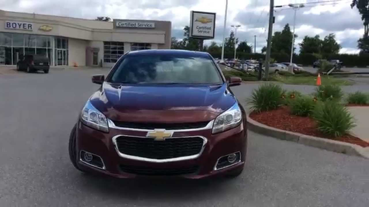2015 chevrolet malibu 4dr sdn lt w 2lt boyer chevrolet. Black Bedroom Furniture Sets. Home Design Ideas