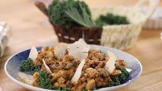 Warm Mushroom & Kale Salad  Sanjeev Kapoor Khazana