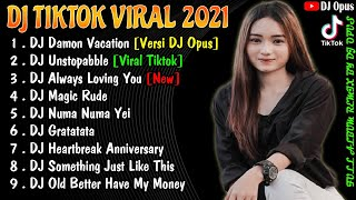 Download DJ TIKTOK TERBARU 2021 - DJ DAMON VACATION TIK TOK FULL BASS VIRAL REMIX TERBARU 2021