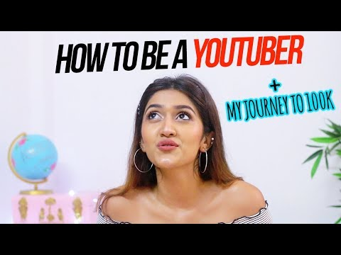HOW TO BE A YOUTUBER | My Journey to 100k | Larissa Dsa