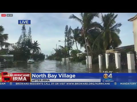North Bay Village Flooded After Irma