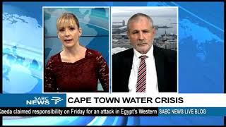 Cape Town water crisis: Sid Peimer