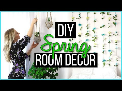 DIY SPRING ROOM DECOR - Pinterest inspired! TheBeauty2go