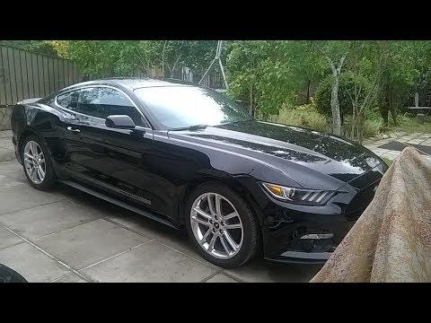 Ford Mustang из США ремонт и выдача клиенту.