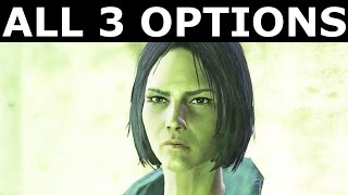 Fallout 4 Far Harbor - Ending Of The Story About Missing Daughter Kasumi - All 3 Possible Options