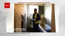 London Bathroom Fitters | Bathroom Refurbishment Project London