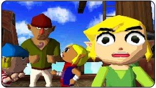 The Legend Of Zelda: Phantom Hourglass (DS) - All Bosses Ending