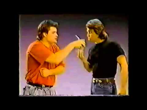1991 Commercial: Ultra Slim Fast with Peter DeLuise