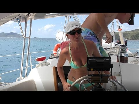 Mermaids, Fickle Winds and Gusty Sails (Sailing SV Sarean) Ep. 5