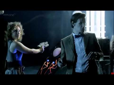 The Doctor and River Song Flirting [HD]
