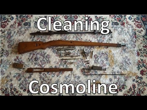 Cleaning Cosmoline off Military Surplus - Part 1