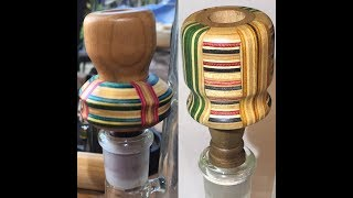 Gary's Wares: Gary Makes Wooden Bong Slides (out of skateboards)