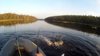 4 Озеро мечта Утренняя рыбалка Путь к машине