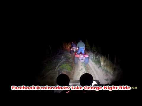 Colorado ATV Lake George 6/3/16 Night Ride