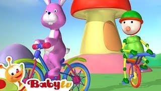 Bike Ride - Bicycle Racing | Playground of Toys | BabyTV