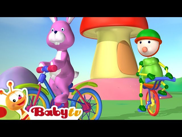 Bike Ride   Bicycle Racing   Playground of Toys   BabyTV