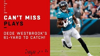 Dede Westbrook's 61-Yard Catch & Run TD vs. Pats!