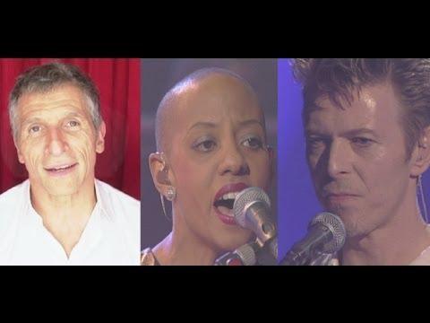"My Taratata - Nagui - David Bowie & Gail Ann Dorsey ""Under Pressure""  1995"