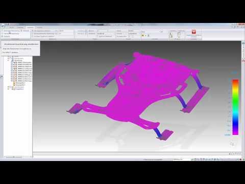Fem berechnung mit solid edge simulation youtube for Fem berechnung