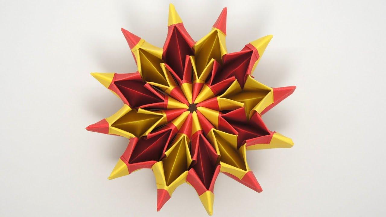 Cool Modular Origami Diagram Hq Holden Ignition Switch Wiring Fireworks Yami Yamauchi Remake Youtube