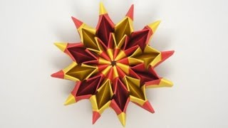 Repeat youtube video Origami Fireworks (Yami Yamauchi) - remake